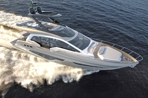 PROBRAVA Sessa Marine Flybridge Line  FLY 21 GULLWING