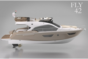 PROBRAVA Sessa Marine Flybridge Line FLY 42